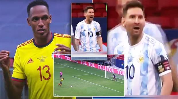 Kisah Yerry Mina, Redam Emosi Saat Diejek Lionel Messi
