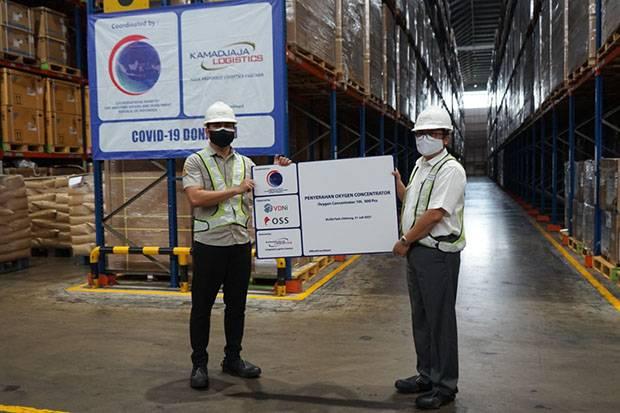 Pemerintah Terima Bantuan Oksigen dari Perusahaan Smelter Nikel VDNI-OSS