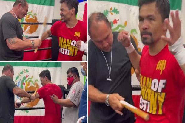Manny Pacquiao Meringis Kesakitan Dihajar Metode Latihan Brutal