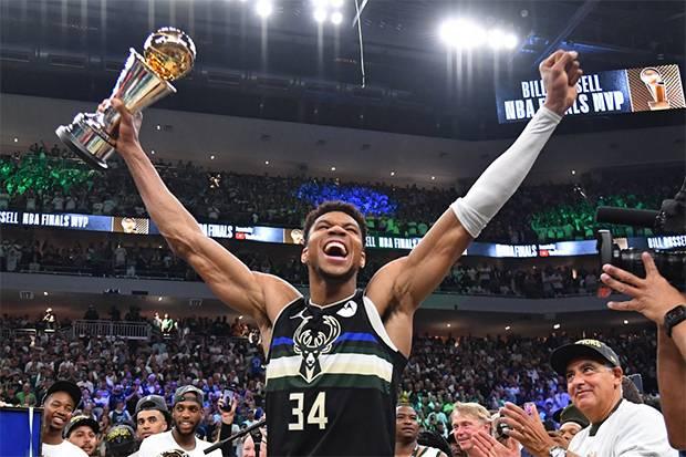 Catatan Emas Giannis Antetokounmpo Saat Bawa Milwaukee Bucks Juara NBA