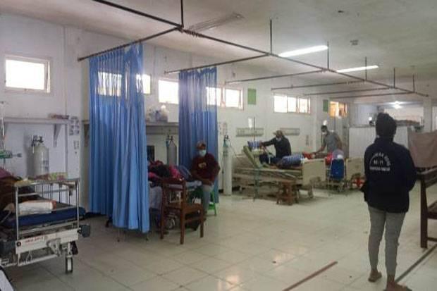 Kasus Covid-19 Meningkat, Faskes di RSUD Youwari Terancam Kolaps