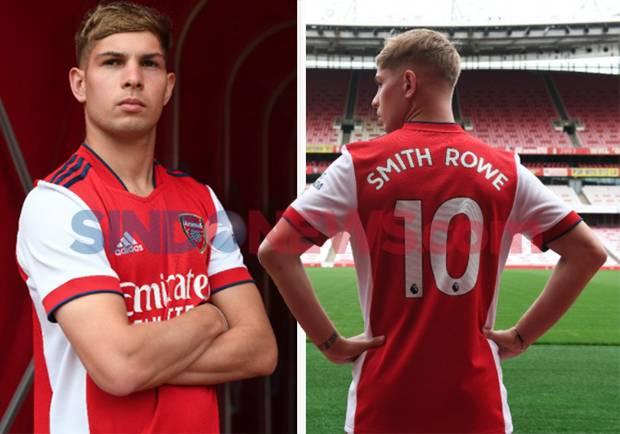 Emile Smith-Rowe Sepakati Kontrak Jangka Panjang di Arsenal