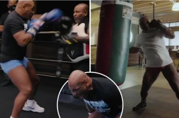 Bogeman Mengerikan Mike Tyson Nyaris Bikin Jawara MMA Terjungkal