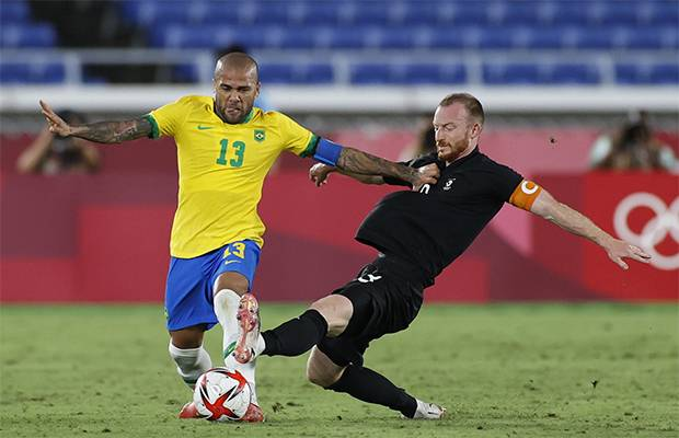 Olimpiade Tokyo 2020: Timnas Brasil U-23 Cukur Jerman U-23