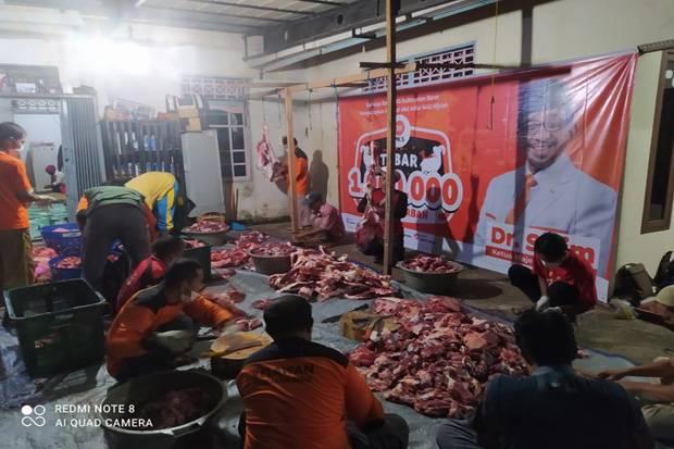 Sukseskan Program 1 Juta Paket Daging Kurban, Alifudin: PKS Melayani Rakyat