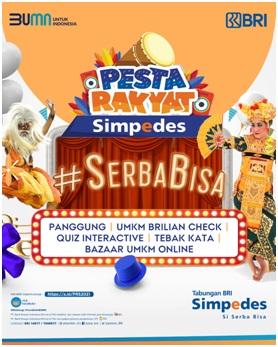 BBRI Bangkitkan UMKM Indonesia, BRI Kembali Gelar Pesta Rakyat Simpedes
