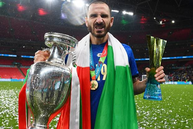 Bonucci Masih Jaga Euforia Kampiun Piala Eropa 2020