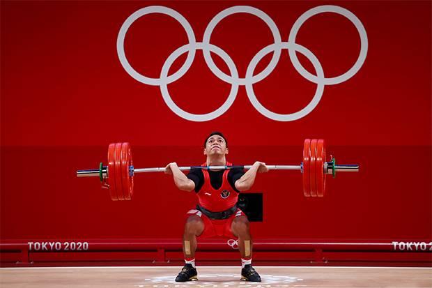 Eko Yuli Raih Medali Perak Olimpiade Tokyo 2020