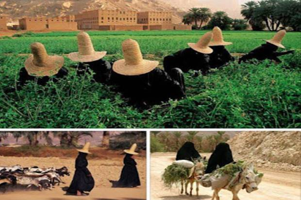 Wanita Tarim, Bidadari Bumi yang Suka Sedekah di Tengah Keterbatasan