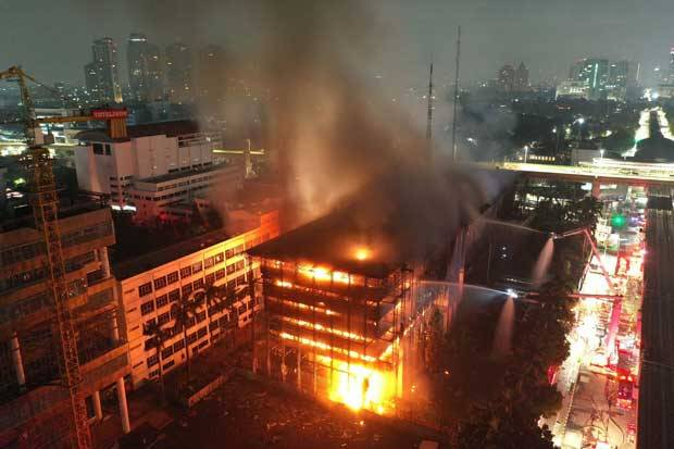 Sidang Vonis Kasus Kebakaran Kejagung Digelar Hari Ini