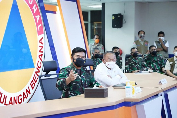 Panglima TNI Tinjau Pelatihan Tracer Digital Bagi Babinsa, Babinpotmar dan Babinpotdirga
