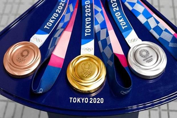 Daftar <a href='https://manado.tribunnews.com/tag/perolehan' title='Perolehan'>Perolehan</a> Medali <a href='https://manado.tribunnews.com/tag/olimpiade-tokyo' title='OlimpiadeTokyo'>OlimpiadeTokyo</a> 2020, Senin (26/7/2021) Pukul 12.00  WIB