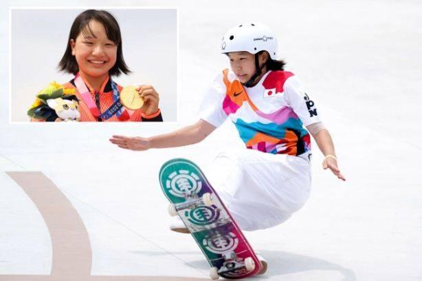 Anak Ajaib, Usia 13 Tahun, Momiji Nishiya Raih Emas Olimpiade!