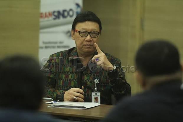 Tjahjo Kumolo: ASN Harus Tegak Lurus Ikuti Pemerintah Pusat soal Penanganan Covid-19