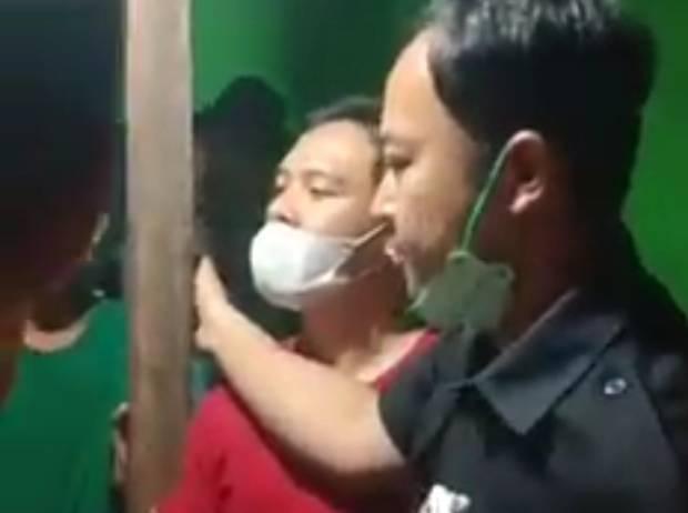 Diduga BB Narkoba Siluman Polisi Nyaris Bentrok dengan Warga, Videonya Viral