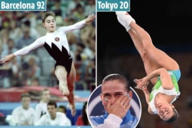 Tangis Oksana Chusovitina Pecah, Cetak Sejarah 8 Olimpiade, Bela 3 Negara