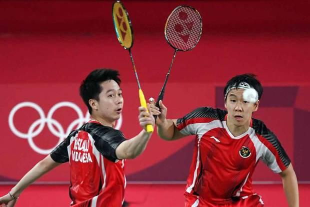 Marcus/Kevin Tersingkir di Olimpiade Tokyo 2021, Dikalahkan Ganda Malaysia