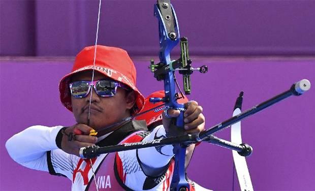 Hasil Panahan Olimpiade Tokyo: Kalahkan Wakil Australia, Riau Egha Tembus 16 Besar