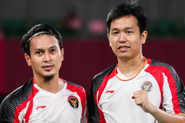 Lebih Berani demi Final, Begini Strategi Jitu Ahsan/Hendra Hadapi Lee/Wang