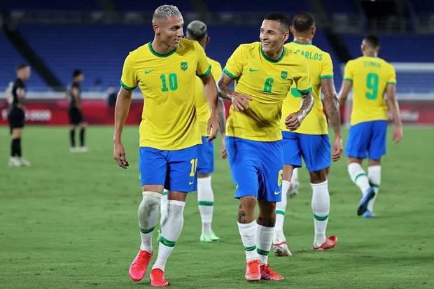 Timnas Brasil U-23 Waspada Tim Kuda Hitam Mesir