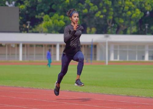 Hasil Atletik Olimpiade Tokyo 2020; Alvina Tehupeiory Lolos ke Putaran Pertama