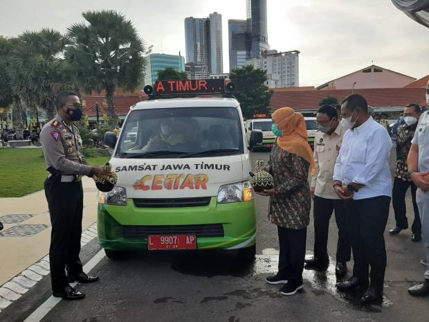 Layanan Samsat 4.0 Tingkatkan Transaksi Pajak Kendaraan Bermotor di Jawa Timur