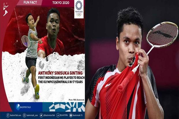 Anthony Ginting Akhiri Dahaga Medali Tunggal Putra selama 17 Tahun di Olimpiade
