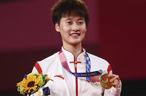 Chen Yu Fei Sabet Emas Olimpiade untuk China, Tunggal Putri India Raih Perunggu