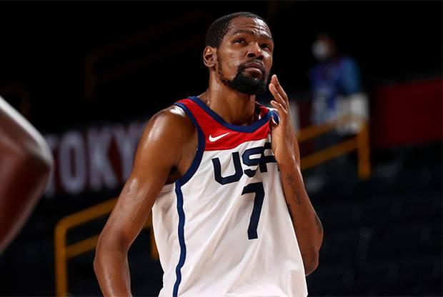 Kevin Durant Pencetak Poin Terbanyak AS di Olimpiade Tokyo 2020