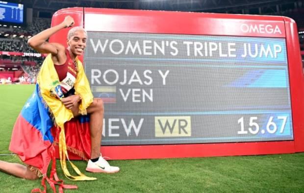 Yulimar Rojas Pecah Rekor Dunia Lompat Jangkit yang Bertahan 26 Tahun