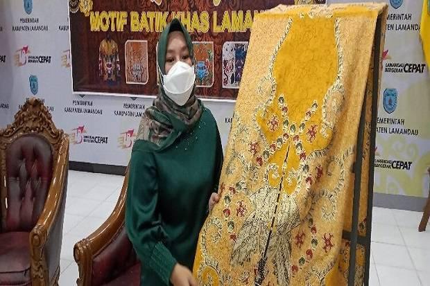 11 Motik Batik Khas Lamandau Kalteng Resmi Diluncurkan