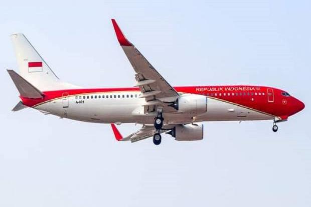 Selesai Dicat Ulang, Pesawat Kepresidenan Sudah Beroperasi Sejak 17 Juli 2021