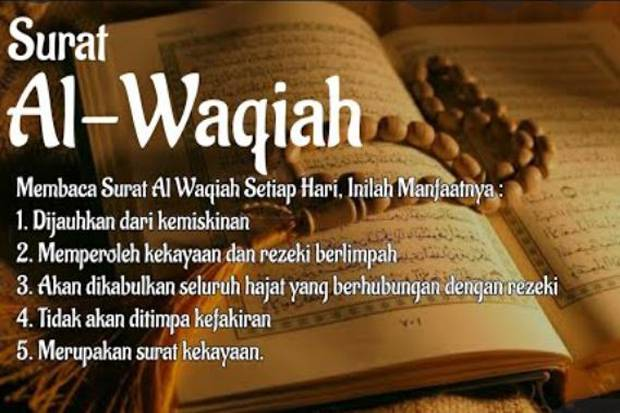 Baca Al Waqiah Setiap Hari Dijauhkan dari Kemiskinan