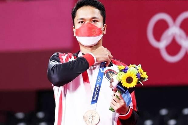 Anthony Ginting Berbagi Bahagia Lewat Medali Perunggu Olimpiade Tokyo 2020