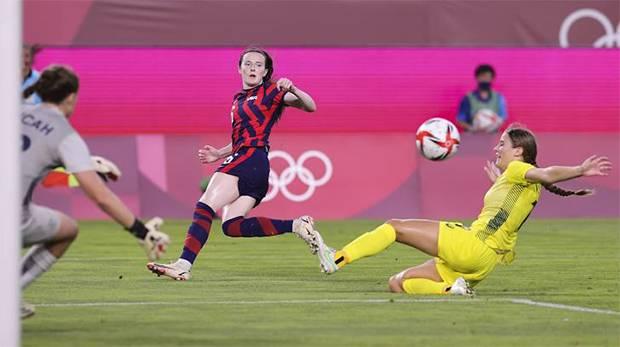 Timnas Sepak Bola Putri Amerika Serikat Raih Medali Perunggu