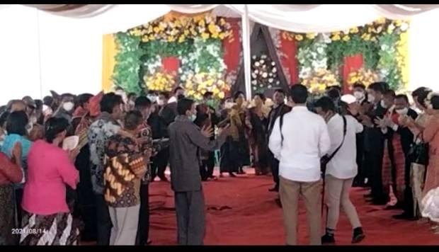 Anggota DPRD Simalungun Gelar Pesta Pernikahan, Kapolres: Akan Ditindaklanjuti Satgas COVID-19