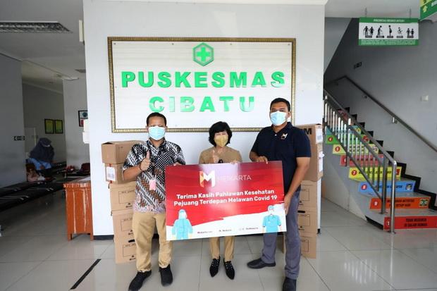 LPCK Persembahan Meikarta di HUT RI, Gelar Acara Virtual dan Beri Donasi ke Nakes