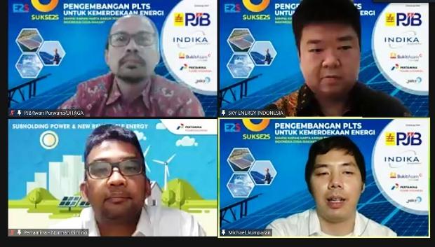 INDY Pertamina Power Indonesia Kejar Kapasitas PLTS 500 MW dalam 5 Tahun