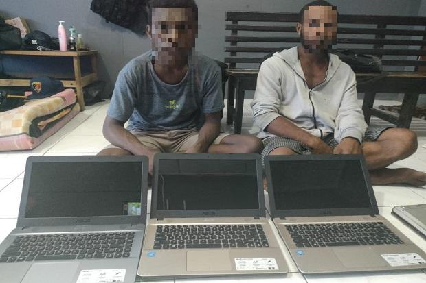 Gasak 11 Laptop di SMA YPPK Yos Sudarso, 2 Pemuda Merauke Diringkus Polisi