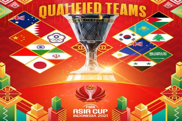 Taiwan Rebut Tiket Terakhir, Ini 16 Kontestan FIBA Asia Cup 2021