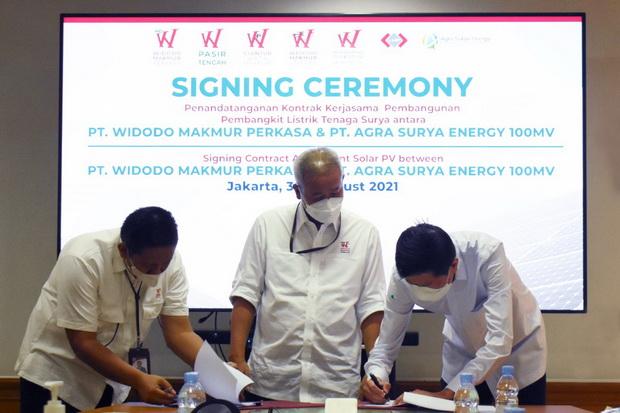 WMUU Menuju Green Company, WMP Mulai dari Penyediaan Layanan Solar Panel di Fasilitas Produksi