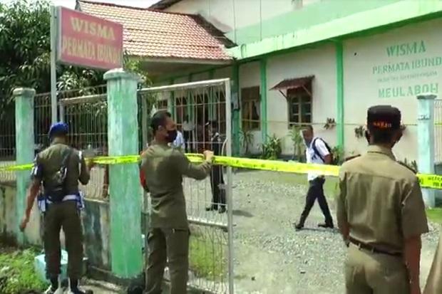 Jadi Tempat Berhubungan Seks Pasangan Liar, Wisma di Aceh Barat Disegel