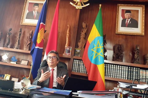 Dubes RI Tidak Bisa Beli Santan Kelapa Indonesia di Ethiopia