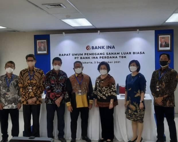 BINA RUPSLB Bank Ina Perdana Putuskan Rombak Susunan Direksi