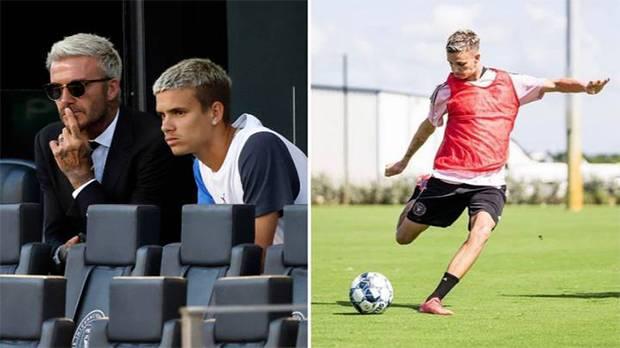 Putra David Beckham Teken Kontrak di Klub Sepak Bola Profesional