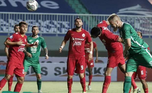 Hasil Liga 1 2021/2022: Persija Ditahan Imbang PSS Sleman