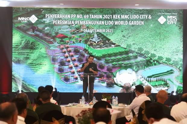 KPIG Bareng Penetapan MNC Lido City sebagai KEK Pariwisata, MNC Land Groundbreaking Lido World Garden