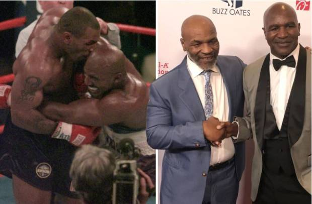 Trauma KO! Mike Tyson Takut Dijatuhkan Evander Holyfield!