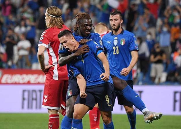Italia vs Lithuania: Giacomo Raspadori Puas Gli Azzurri Bantai Tim Tamu