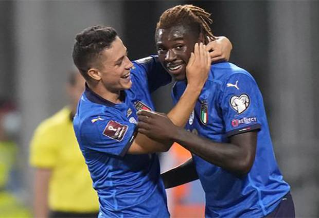 Italia vs Lithuania: Jadi Pahlawan Gli Azzurri, Moise Kean Kenang Masa Kecil
